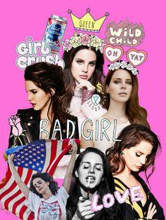Lana Del Rey #LDR #collage