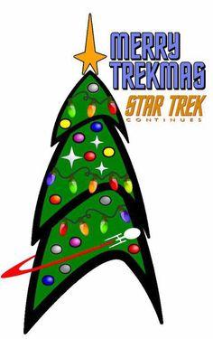 A Very Merry Star Trek Christmas! #startrek #trekkers  (wish I had seen this sooner.)