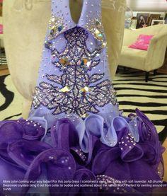 Sondra celli bling Huge Wedding Dresses, Formal Dresses, Party Dresses, Sondra Celli, My Big Fat Gypsy Wedding, Gypsy Girls, Latin Ballroom Dresses, Gypsy Dresses, Alternative Wedding