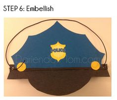 DIY Police Hat...