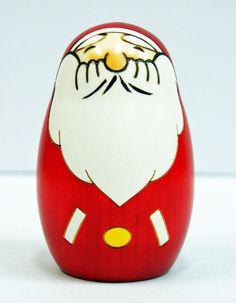 Usaburo Kokeshi Japanese Wooden Doll 9-49 Santa Claus