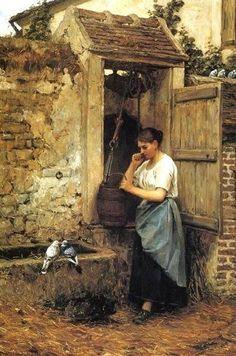 Henry Mosler (American painter, 1841-1920)