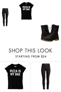 """Untitled #590"" by karinacabrera ❤ liked on Polyvore featuring Timberland"