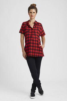 ddbeda4cfd9 Loyal Hana Isla in Red Nursing Clothes