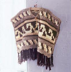 Free pattern  Ravelry: Crochet Poncho pattern by Candi Jensen