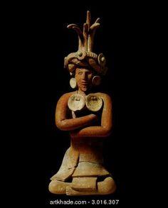 A Maya Figure, Jaina, Mexico