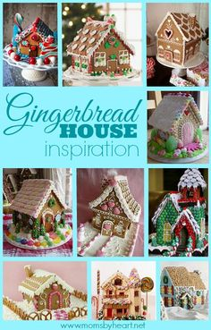 Gingerbread house inspiration #gingerbread #gingerbreadhouse