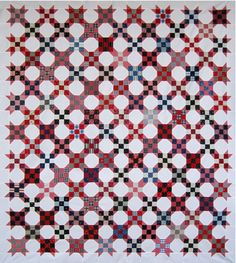 9-Patch and Snowball Quilt by  Martha Dellasega Gray, 2010