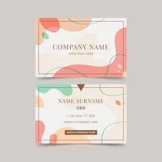 Free Business Card Templates, Free Business Cards, Business Card Design, Presentation Cards, Presentation Design, Packaging Design, Branding Design, Certificate Design Template, Name Card Design
