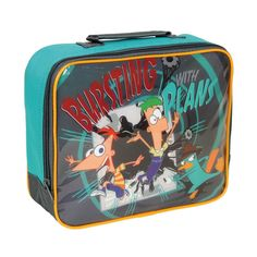 Portameriendas térmico Phineas & Ferb  Precio: 8.91€