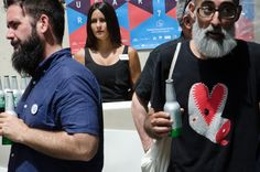 Rueda de Prensa de la Séptima edición de Incubarte // Foto: Victor Moragriega // #Incubarte #Arte #Prensa #2015 #Festival #Valencia #Fermax #MuVIM #Heineken