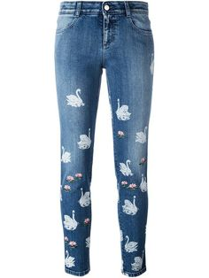 Shoppen Stella McCartney 'Swan' Jeans von Julian Fashion aus den weltbesten Boutiquen bei farfetch.com/de. In 400 Boutiquen an einer Adresse shoppen.