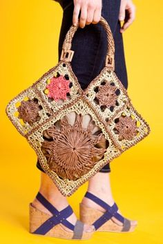 This is the perfect summer crochet bag! Abracadabra Bag - Crochet Me