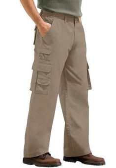 Big and Tall Side Elastic Ranger Cargo Pants