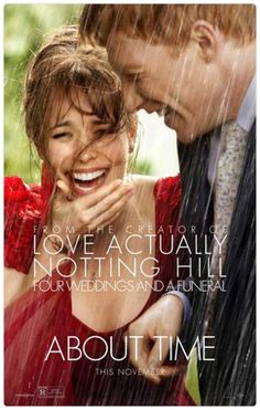 About Time by Richard Curtis. With Domhnall Gleeson , Rachel McAdams and Bill Nighy . It seems to me that Rachel McAdams lo. Rachel Mcadams, See Movie, Movie Tv, Best Upcoming Movies, Latest Movies, Film Trailer, Watch Trailer, Bon Film, Movie Posters