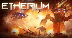 Etherium é um jogo de estratégia em tempo real que conta a história de três impérios em luta para controlar o precioso material etherium.
