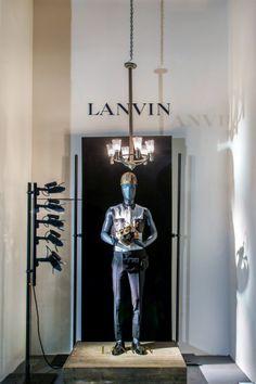 LANVIN 'KINGS & QUEENS' WINDOW DISPLAYS More photos: http://thebwd.com/lanvin-kings-queens-window-displays/
