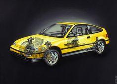 1990 Honda Civic CRX Si