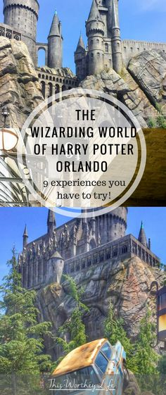 Check out the best things to do and experience at the Wizarding World of Harry Potter Orlando, Universal Studios Resort. We cover the best Harry Potter rides and experiences you should try when going to the Harry Potter theme park in Orlando, Florida.