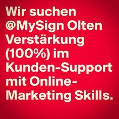 Mehr unter www.mysign.ch Marketing