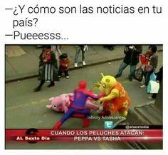 Funny Spanish Memes, Stupid Funny Memes, Hilarious, Mundo Meme, Best Memes, Dankest Memes, Funny Images, Funny Photos, Peppa Pig Memes