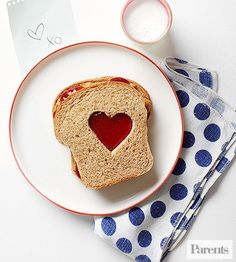 Show your affection this Valentine's Day with these creative, heartfelt recipes. From breakfast to lunch, and dinner to dessert, every meal on February 14 is a chance to show your kids how much you love them.
