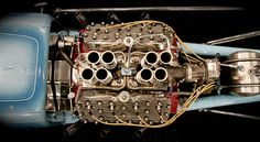 Fuel injected flathead V8, really cool.