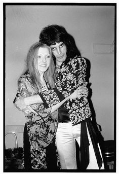 This Freddie Mercury and Mary Austin photo captures the iconic couple. Buy this photo of Mary Austin and Freddie Mercury by Mick Rock at Morrison Hotel Gallery. Queen Freddie Mercury, Mary Austin Freddie Mercury, Queen Photos, Queen Pictures, Queen Band, John Deacon, Bryan May, Freddie Mercuri, Mr Fahrenheit