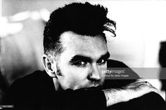 English singer Morrissey is photographed for NME on November 22, 1989 in Sussex, England.