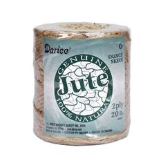 Jute Cord - 2 ply - 400 ft roll