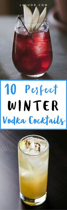 When it comes to #winter drinking, brown spirits usually prevail. Brandies, dark rums and whiskies—with notes of caramels, spices and wood—are what we often turn to when the mercury drops, while vodka is relegated to the warmer months. But why? Given that vodka is a neutral spirit, it's able to seamlessly integrate into wintry #cocktails too. We've rounded up 10 vodka cocktails that are perfect for winter sipping!