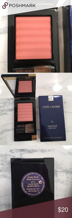 NEW Estée Lauder Blush New in box Estée Lauder tender blush in 211/11 nude rose/rose marble. I think this is discontinued. Sephora Makeup