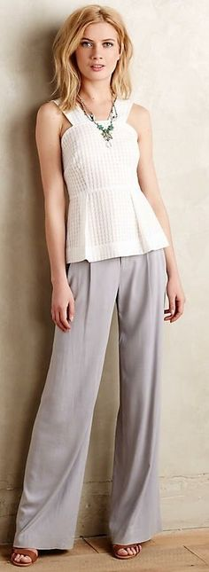NEW WITH TAGS ANTRHOPOLOGIE VERSO WIDE-LEG TROUSERS WOMEN'S PANTS BY CARTONNIER | Clothing, Shoes & Accessories, Women's Clothing, Pants | eBay!