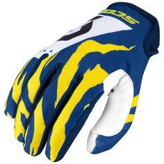 Scott 350 RACE Gloves (BLU/WHT)