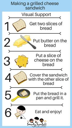 Visual support for making a grilled cheese sandwich. English Teaching Materials, English Teaching Resources, English Writing Skills, Sequencing Worksheets, Reading Comprehension Worksheets, Writing Worksheets, Talk 4 Writing, Writing Workshop, Procedural Writing