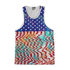 INTO THE AM Freedom Men's All Over Print Tank
