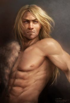 Wulfgar, son of Beornegar by svanha.deviantart.com on @DeviantArt