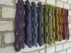 Ravelry: Project Gallery for Swiss Cheese Scarf pattern by Winnie Shih, free pattern
