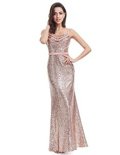 d82fc9c9288c Sparkle Prom Dress Ever Pretty A Line Spaghetti Straps Floor Length 2017  Women Elegant Sequins Long Party Prom Gown - TakoFashion - Women's Clothing  ...