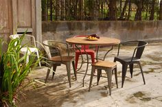 Industrial Dining Furniture #home #furniture #interiors