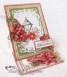 Heartfelt Creations | Christmas Easel Card
