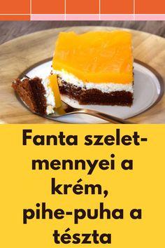 Mennyei a krém, pihe-puha a tészta. #krém #tészta
