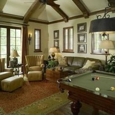 Pool Table Design, Pictures, Remodel, Decor and Ideas - page 9