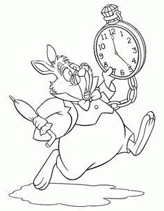 Photos of Alice in Wonderland. Images of Alice in Wonderland. Pics and coloring pictures of Alice in Wonderland. Disney Coloring Pages, Coloring Book Pages, Printable Coloring Pages, Coloring Pages For Kids, Kids Coloring, Alice In Wonderland Drawings, Alice In Wonderland Tea Party, White Rabbit Alice In Wonderland, Tatto Alice