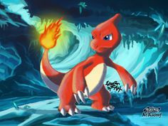 Charmeleon (Pokemon Art Academy) by Zipo-Chan on DeviantArt
