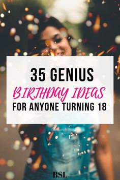 Want some genius birthday ideas so you can plan an extremely fun day? These ideas will create a birthday you will remember forever. 18th Birthday Party Ideas For Girls, Gifts For 18th Birthday, 18th Party Ideas, Birthday Wishlist, Birthday Diy, Girl Birthday, 18th Birthday Celebration Ideas, 18 Birthday Decorations, 18th Birthday Gift Ideas