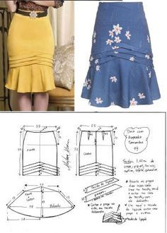 Amazing Sewing Patterns Clone Your Clothes Ideas. Enchanting Sewing Patterns Clone Your Clothes Ideas. Fashion Sewing, Diy Fashion, Fashion Dresses, Skirt Patterns Sewing, Clothing Patterns, Diy Clothing, Sewing Clothes, Costura Fashion, Diy Kleidung