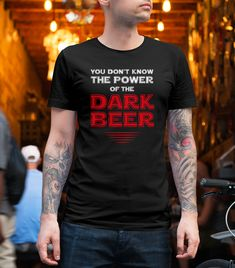 This tshirt is special design. It is for those who want to feel different. #teespring #darkbeer #beertshirt #blacktshirt #graphictshirt #menfashion #etsytshirt