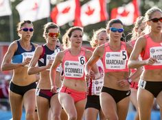 Lanni Marchant running two events for Canada in Rio! The 10,000m and the marathon 🇨🇦