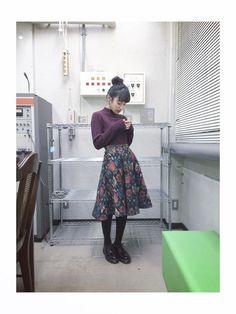 高橋愛│Heatherのニット・セーターコーディネート-WEAR